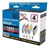 Pack 4 cartouches Quattro Print compatible Epson 18XL (Pâquerette)