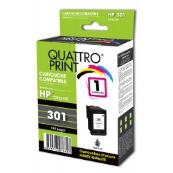 Cartouche compatible HP 301XL noire