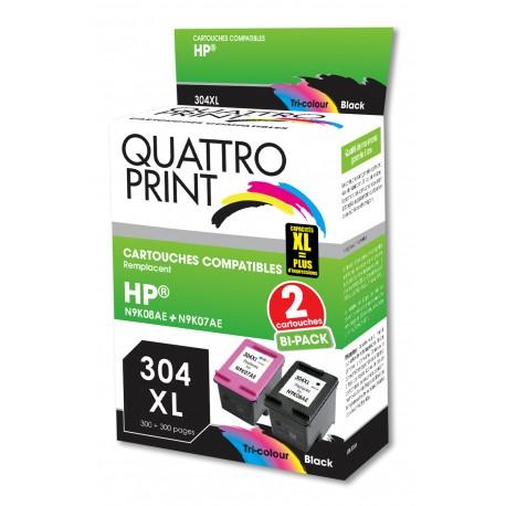 Cartouches compatibles 304XL noir