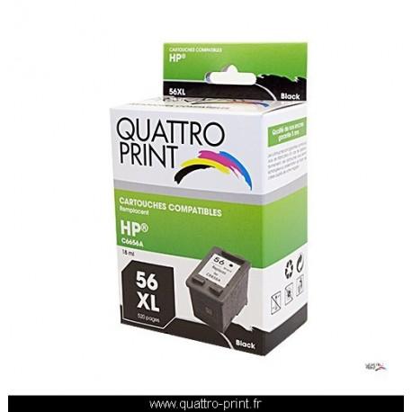 Cartouche Quattro Print compatible HP 56