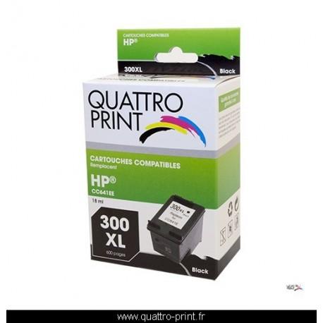 Cartouche d'encre compatible HP300XL Quattro Print